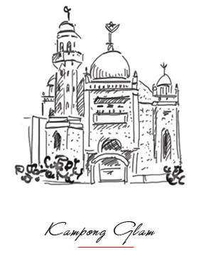 Illustration of Kampong Glam